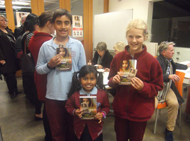 The winners of Mount Waverley's annual writing competition at the Through My Eyes launch